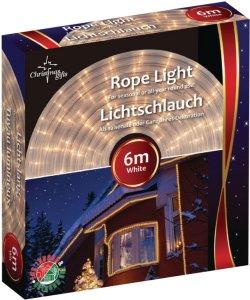Nedis Julebelysning tråd hvit 6m utendørs