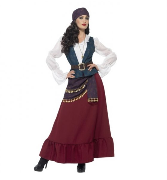 Smiffys Deluxe Pirat (Voksen)