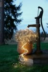 Star Trading Dew Drop LED klaseslynge 200cm
