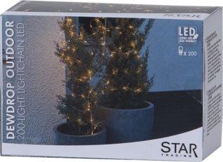 Star Trading Dew Drop LED slynge 20m