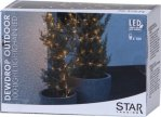 Star Trading Dew Drop LED lysslynge  10m