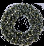 Star Trading Krans med 60 LED-lys 70cm