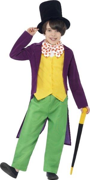 Smiffys Liten Willy Wonka (Barn)
