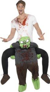 Smiffys Piggyback Zombie