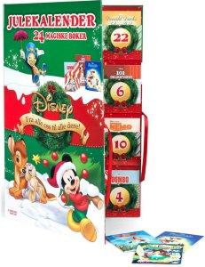 Disney Julekalender 24 magiske bøker