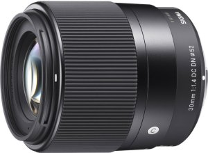 Sigma 30mm f/1.4 DC DN for Canon