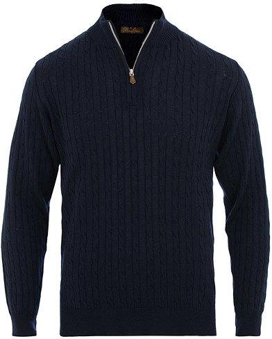 Stenströms Merino Wool Cable Half Zip