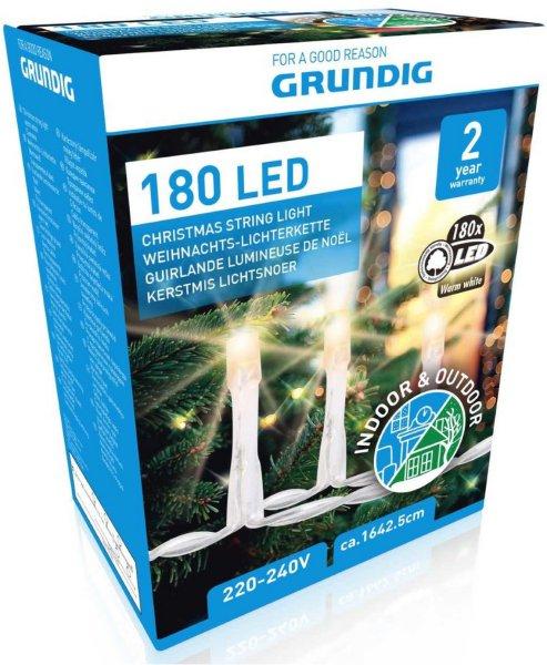 Grundig Julelysslynge 180 LED 16m