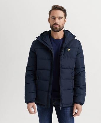 Best pris på Lyle & Scott Wadded Hooded Jacket (Herre) Se