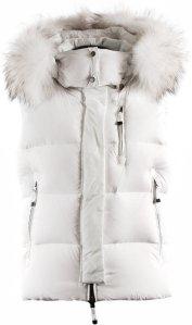 40 Stella Vest Puffer W WHITE FADE
