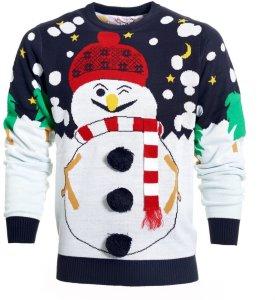 Snømannens Julegenser Dame — Julegenser