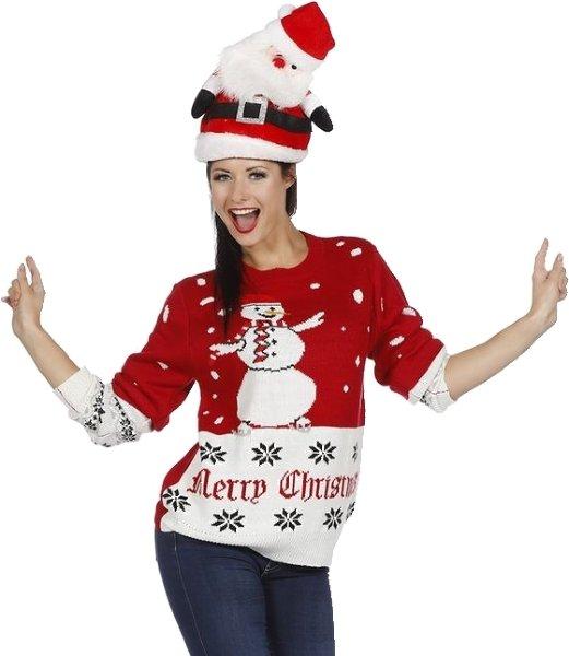 Wilbers Julegenser med snømann (Unisex)