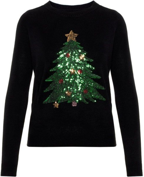 Vero Moda Shiny Christmas Tree (Dame)
