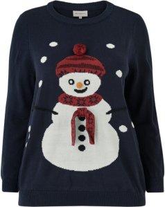 Only Carmakoma Snowman Julegenser