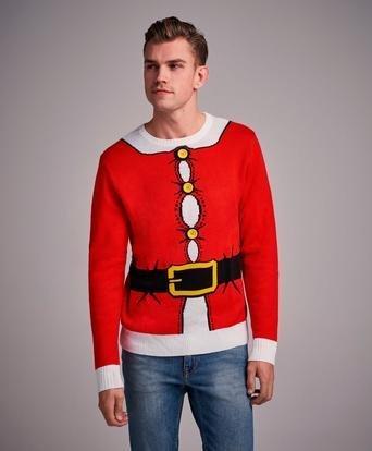 Speechless Ugly Christmas Sweater (Herre)