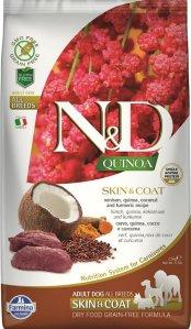Farmina N&D Dog Quinoa Skin & Coat Venison 7 kg