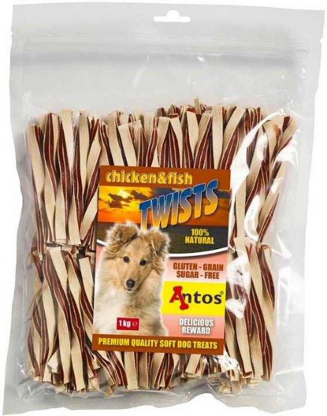 Antos Chicken & Fish Twists (1 kg)