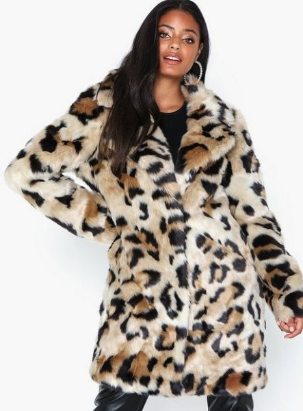 Vila Vimondana Faux Fur Coat