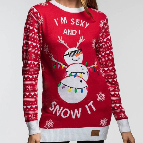 SillySanta I'm sexy and I Snow it (Dame)