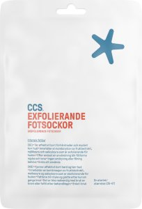 CCS Exfolierende fotsokker