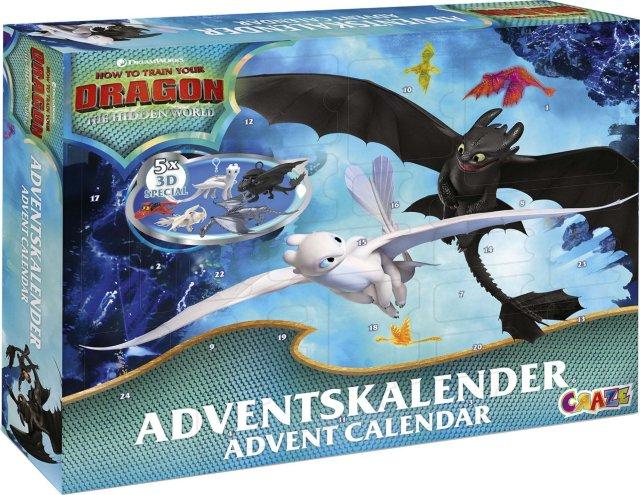 Dreamworks Dragetreneren Adventskalender