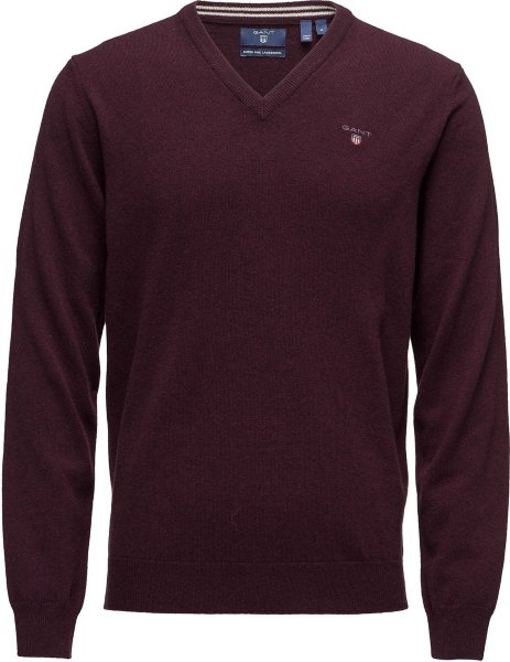 Gant Superfine Lambswool V-Neck (Herre)