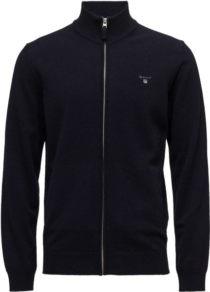 Gant Superfine Lambswool Zip (Herre)
