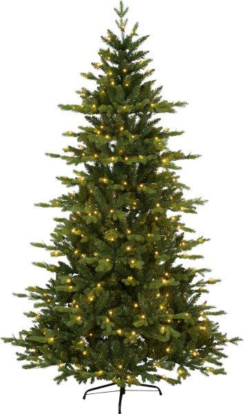 Star Trading Larvik juletre med LED lys 210cm