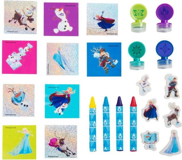 Disney Frozen adventskalender med skolesaker