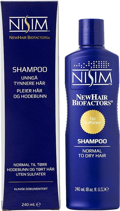Nisim NewHair Bifoactor Shampoo Normal To Dry Hair 240ml
