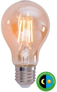 Scanlight LED m/Sensor Filament 4,5W E27 Amber