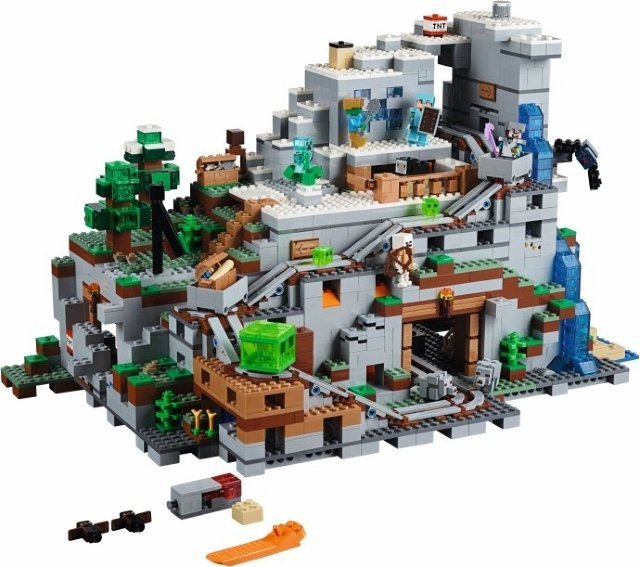 LEGO 21137 Minecraft - Fjellhulen