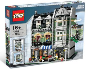 LEGO 10185 Green Grocer - Exclusives sett