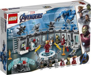 LEGO 76125 Marvel Super Heroes - IronMan Hall of Armour