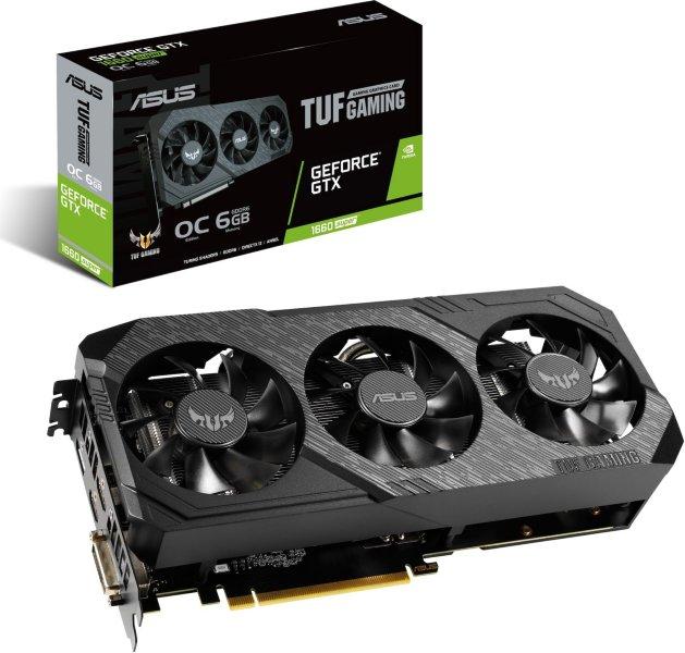 Asus GeForce GTX 1660 Super SUPER TUF OC