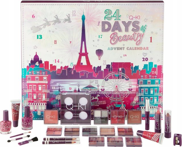 Q-KI 24 Days of Beauty Paris adventskalender