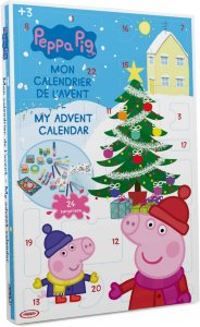 Adventskalender med tegnesaker