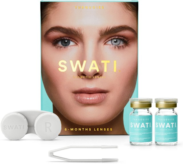 SWATI Cosmetic Lenses Turquoise
