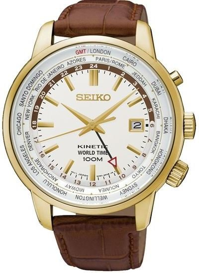 Seiko Kinetic World Time SUN070P1