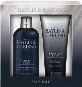 Baylis & Harding Men's Sport Citrus Lime & Mint 2 Piece Set