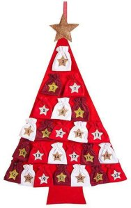Hotex adventskalender juletre