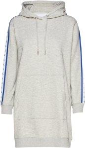 Calvin Klein Monogram Hooded Dress