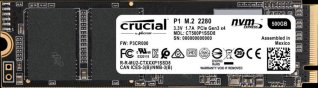 Crucial P1 SSD 500GB