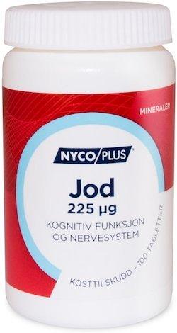 Nycoplus Jod 225mcg 100 tabletter