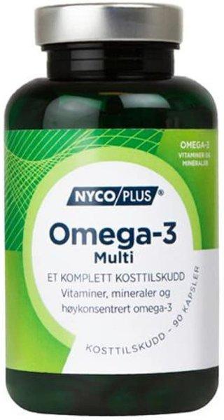 Nycoplus Omega-3 Multi 90 kapsler