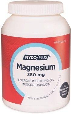 Nycoplus magnesium 350mg 100 tabletter