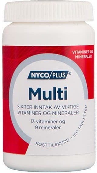Nycoplus Multi 200 tabletter