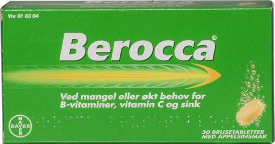 Bayer AB Berocca 30 brusetabletter