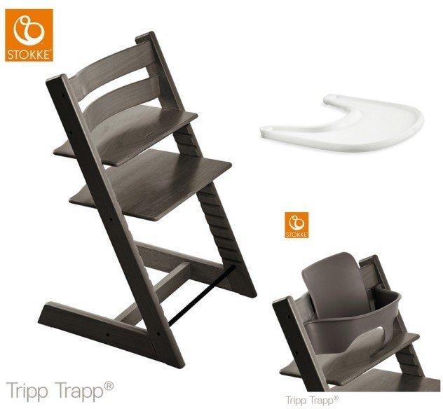 Tripp Trapp® Barnestol Hazy Grey