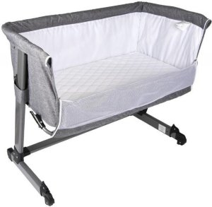 Titanium Baby Bedside Co-Sleeper